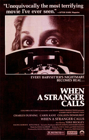 la locandina di Quando chiama uno sconosciuto del 1979