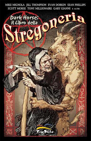 La copertina di una raccolta di fumetti sul tema Stregoneria