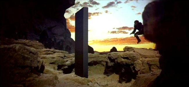 2001: Odissea nello Spazio, il monolito nero
