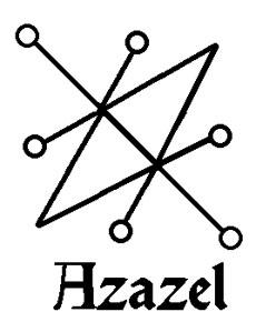 Il simbolo di Azazel nell'Ars Goetia