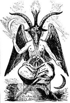 Baphomet, un demone dall'aspetto caprino