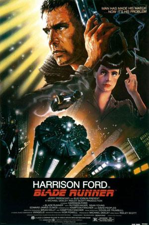 La locandina del film Blade Runner