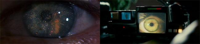 Occhi nel film Blade Runner