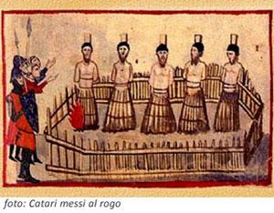 Il rogo dove bruciarono i Catari