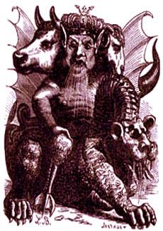 Asmodeo, il demone distruttore