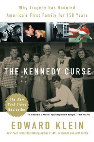 La copertina del libro The Kennedy Curse di Edward Klein