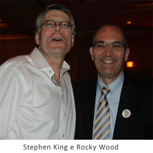 Stephen King e Rocky Wood