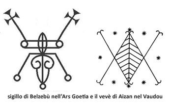 Il sigillo di Belzebù e il vevè di Aizan