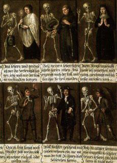 La Danza Macabra: iconografia sulla brevità della vita e sul destino dei mortali