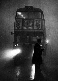 La tragedia del Grande Smog di Londra del 1952