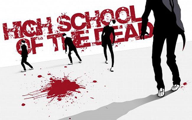 Una immagine del manga High School Of The Dead