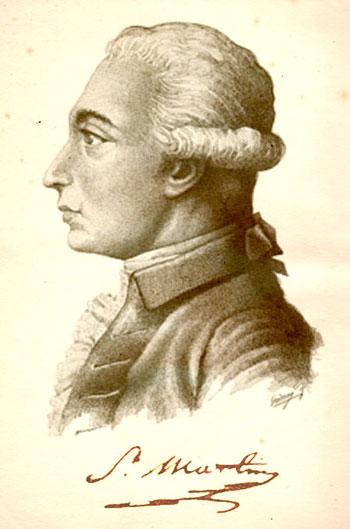 Un ritratto di Louis-Claude de Saint-Martin