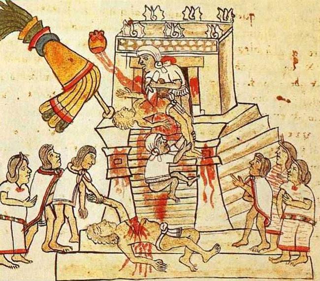 Sacrifici umani aztechi