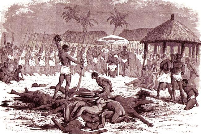 Sacrifici umani in Africa