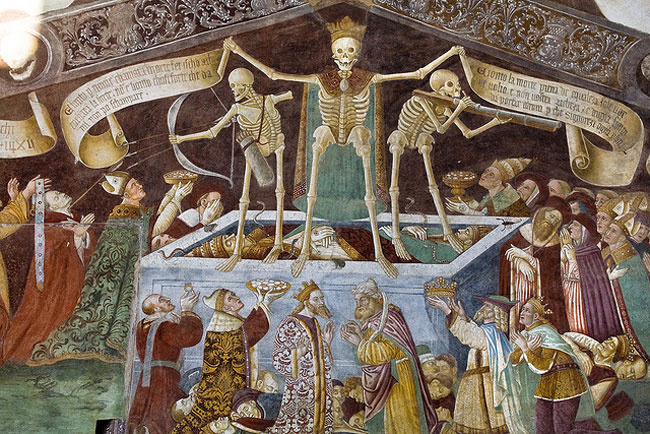Il Trionfo della Morte a Clusone