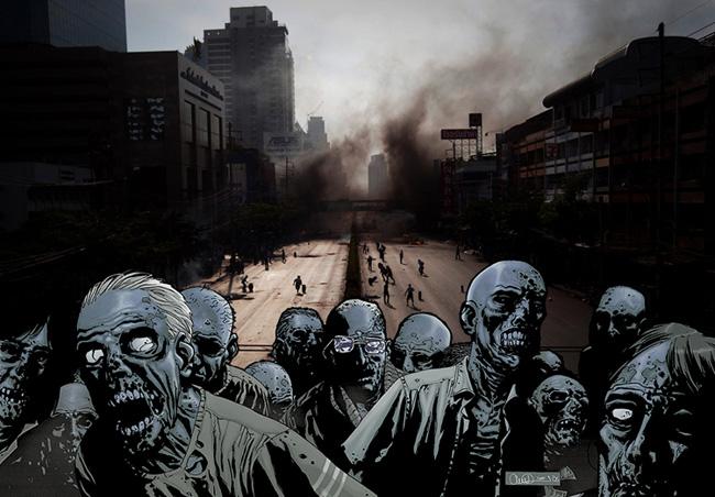 Perché i film e i romanzi con gli zombie piacciono?