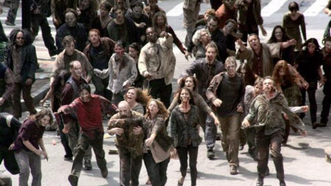 Gli zombie avanzano e non si fermano mai