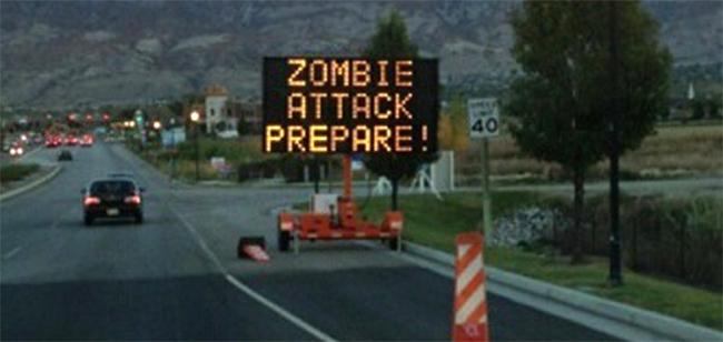Comincia l'invasione degli zombie, preparati!
