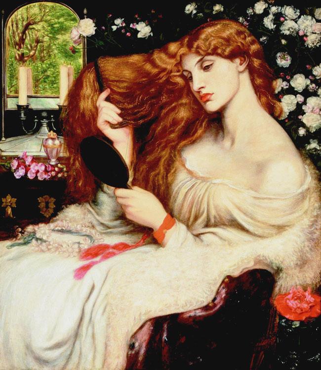 Lilith, la prima donna e madre dei demoni Lady-lilith-rossetti-650