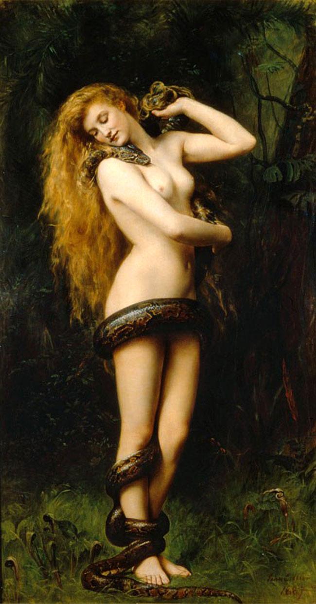 Lilith nel dipinto di John Collier