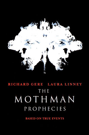 La locandina del film The Mothman Prophecies