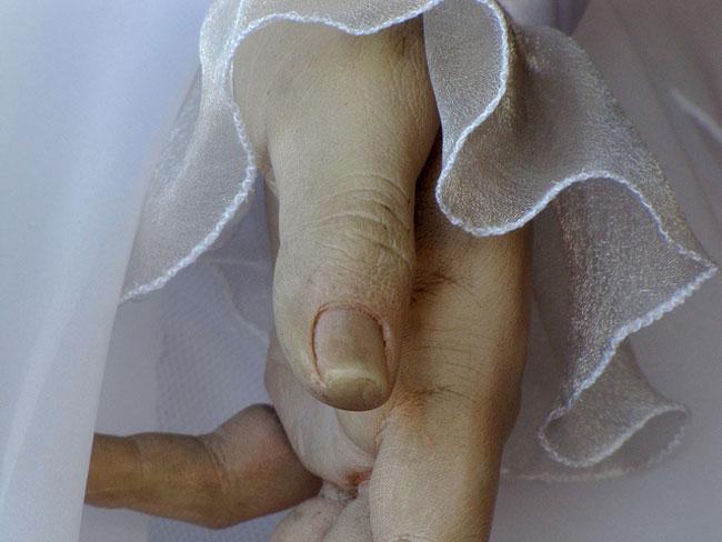 Una mano di Pasqualita