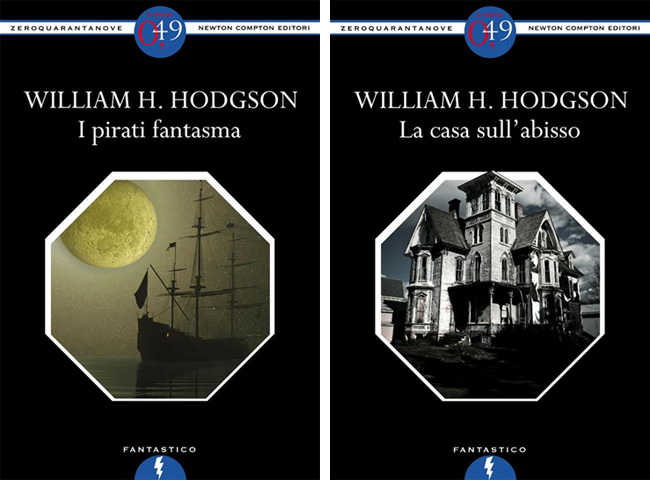 Due libri di William Hope Hodgson dal passato