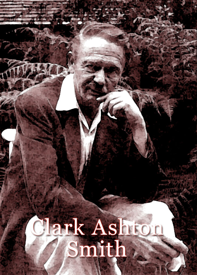Una foto dello scrittore Clark Ashton Smith
