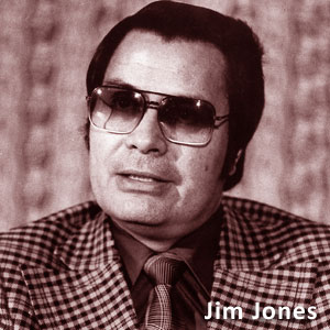Il reverendo Jim Jones del Tempio del Popolo