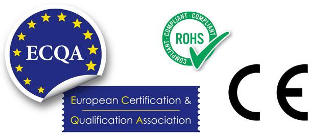 Una foto dedicata alle certificazioni europee sui: assicurarsi sempre che i prodotti acquistati su AliExpress siano conformi a esse