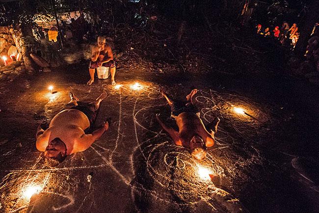Una cerimonia di Santeria cubana, tra mistero e magia