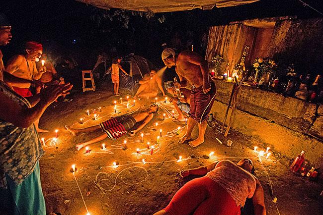 Un rito di Santeria cubana, tra mistero e magia