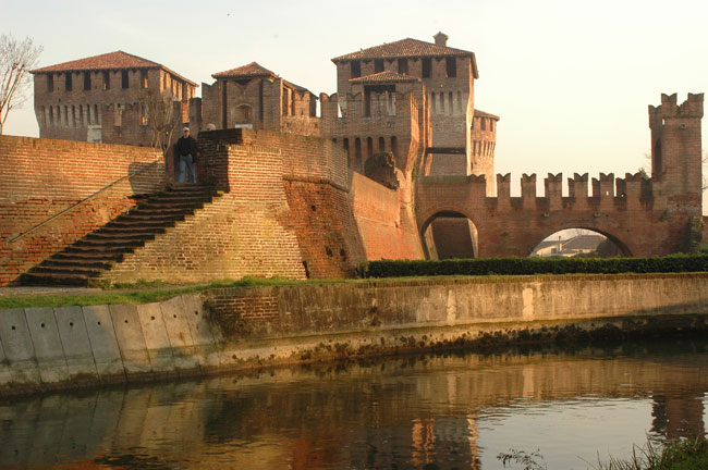 il castello di Soncino (Cremona)