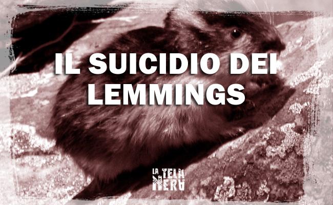 La storia dei Lemmings e del loro famoso suicidio di massa