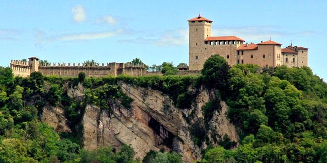 La Rocca di Angera in provincia di Varese