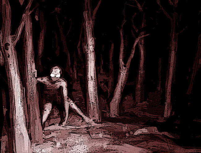 Il Demone di Dover in una foto di dubbia autenticità