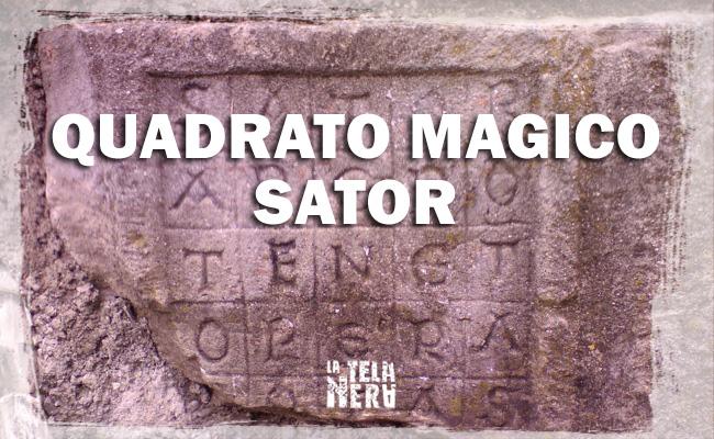 Simbolo esoterico: il Quadrato Magico del Sator