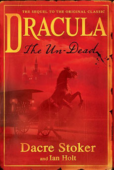La copertina di Dracula. The Un-Dead