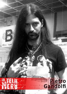 100% Horror e Musica: l'intervista all'autore Pietro Gandolfi