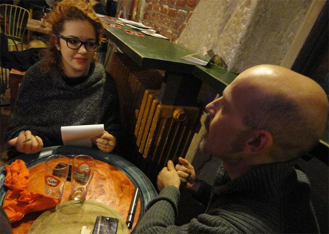 Yuri Abietti con Ester Manzini