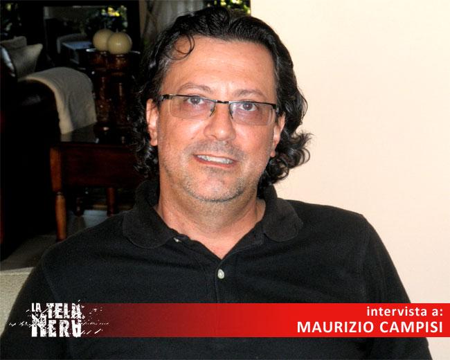 La foto dell'intervista all'autore Maurizio Campisi
