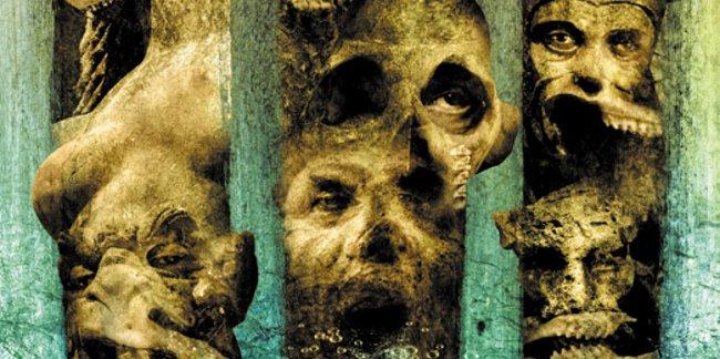 Un dettaglio della tavola dedicata al racconto horror Tres