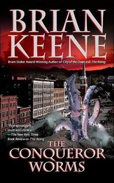 La copertina del romanzo The conqueror worms