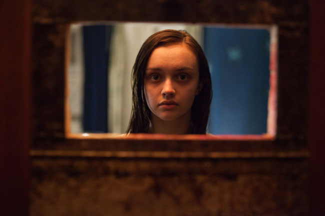 L'attrice Olivia Cooke in una scena di The Quiet Ones