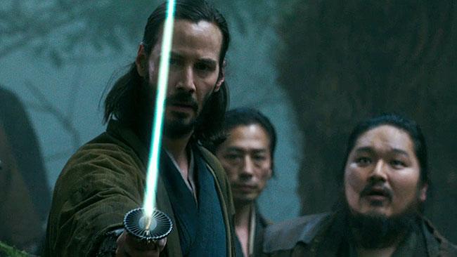 Keanu Reeves, samurai senza padrone (ronin)