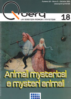 Query 18 - Animali mysteriosi e mysteri animali - Estate 2014