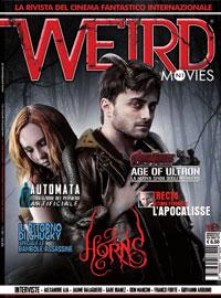 La copertina del numero 1 della rivista Weird Movies