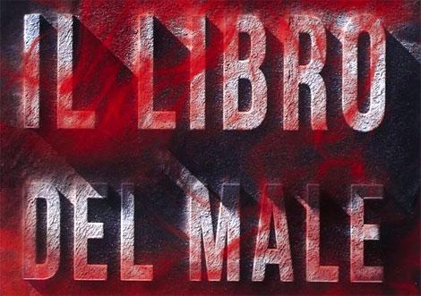 Un particolare della copertina del romanzo Il Libro del Male