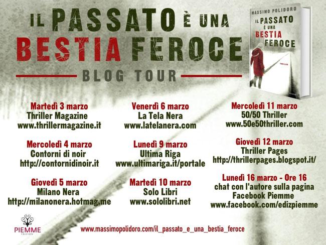 Le tappe del blog tour dello scrittore Massimo Polidoro