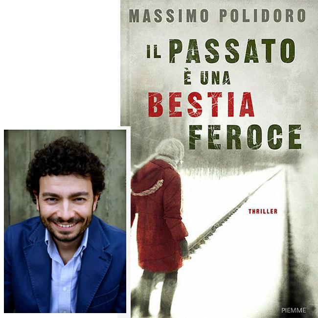 Massimo Polidoro, autore del romanzo thriller Il Passato è una Bestia Feroce